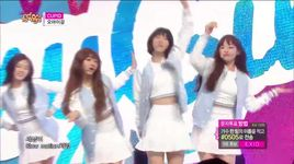 cupid (150425 music core) - oh my girl