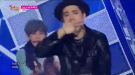 call me baby (150425 music core) - exo