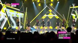 excuse me (150509 music core) - bestie
