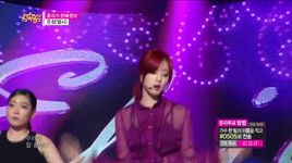 i'm good (150523 music core) - eun jung (t-ara)