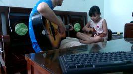 va toi cung yeu em - yeu em dai lau (ukulele - guitar chay bass) phien ban 2 bo con - v.a