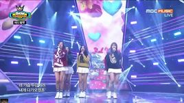 ice cream cake (150506 show champion) - red velvet