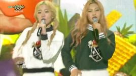 ice cream cake (150417 music bank) - red velvet