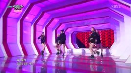 ah yeah (150417 music bank) - exid