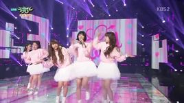 cupid (150501 music bank) - oh my girl