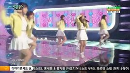 cupid (150508 music bank) - oh my girl
