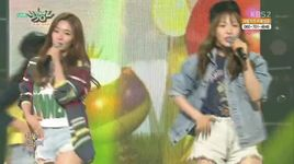 ice cream cake (150508 music bank) - red velvet