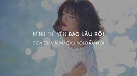 vang anh di di (lyric video) - bich phuong