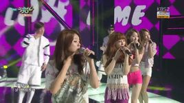 loveme (150703 music bank) - melody day