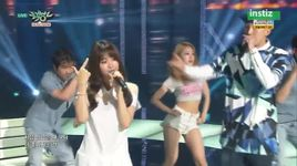 cool night (150703 music bank) - sleepy, ji eun (secret)