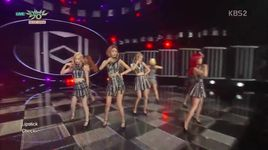 check (150710 music bank) - snsd