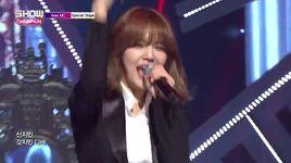 god (150708 show champion) - ji min (aoa), shin young