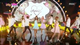 flower petal (150718 music core) - a pink
