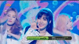 party (150718 music core) - snsd