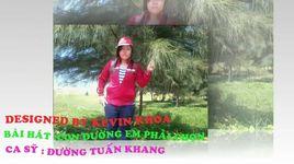 con duong em phai chon (handmade clip) - duong tuan khang