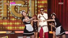 shut up (150808 music core) - baechigi, kim bo hyung (spica)