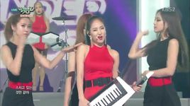 i feel you (150807 music bank) - wonder girls