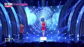 never say goodbye (150812 show champion) - eun ga eun