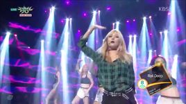 because i'm the best (150911 music bank) - hyuna