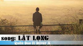 lat long (handmade clip) - quan dao, silverx