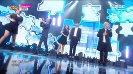 beautiful (150926 music core) - heart b