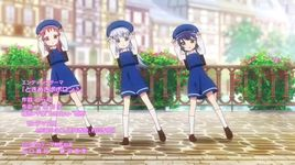 tokimeki poporon (gochumon wa usagi desu ka?? season 2 ending) - chimame tai