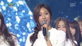 shooting star (151002 music bank) - lovelyz