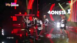 rush (151003 music core) - monsta x