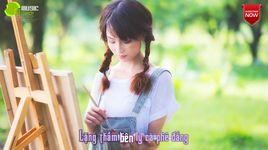 vi dang tinh yeu (lyrics) - khanh don