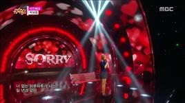 sorry (151017 music core) - park bo ram