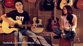 vi toi con song (guitar cover) - minh mon, thuy tet