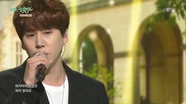 a million pieces (151030 music bank)  - kyu hyun (super junior)