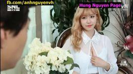 snl korea - hay tim lai nguc cua toi - v.a, hyo sung (secret)