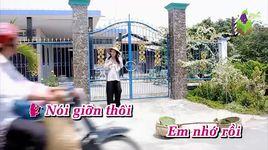 anh ba hu tieu (karaoke) - khang le, ly dieu linh