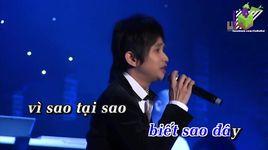 anh da lam sai dieu gi (karaoke) - thai trieu luan