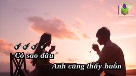 anh khong sao dau (karaoke) - chi dan