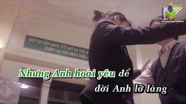 anh van biet (karaoke) - dam vinh hung