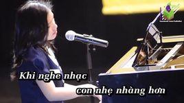 ba ke con nghe (karaoke) - thuy chi