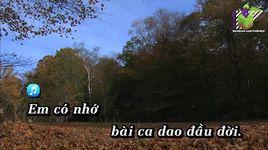 bai ca dao dau doi (karaoke) - ngoc son