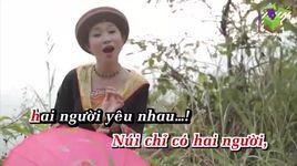 bai ca tren nui (karaoke) - thu huong