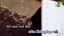 bai hat cho em (karaoke) - m4u