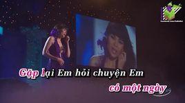 bai khong ten cuoi cung (karaoke) - ngoc anh