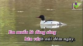 bong nui ben song (karaoke) - anh tho