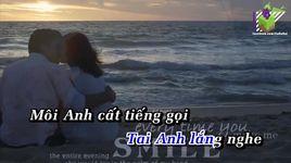 buc thu tinh dau tien (karaoke) - tan minh