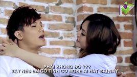 buong tay la cach anh chon (karaoke) - lee thien bao