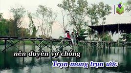 cai duyen cai no cai tinh (karaoke) - thai ngoc