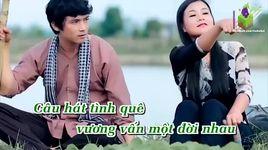cau hat tinh que (karaoke) - tuong nguyen