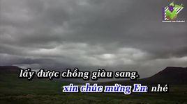 chang trai si tinh (karaoke) - hoang thien long