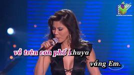 chen dang (karaoke) - ho le thu
