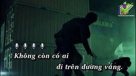 chi con dem nay (karaoke) - dam vinh hung